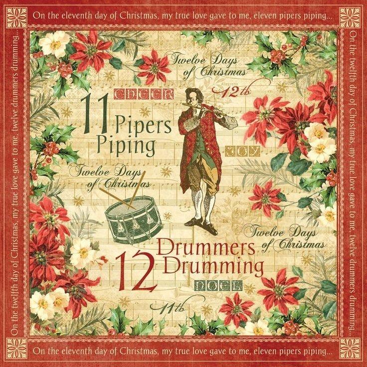 The 25+ Best Twelve Days Of Christmas Ideas On Pinterest regarding 12 Days Of Christmas Background Music